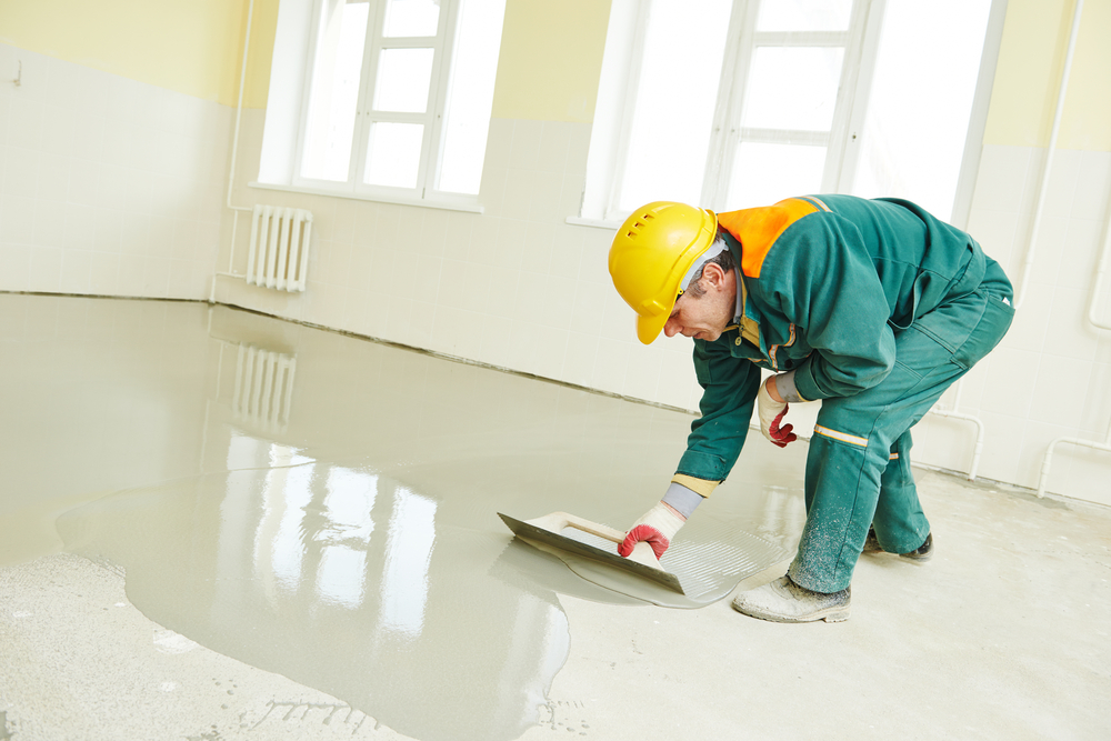 why use self leveling concrete?