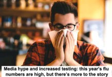 media hype and increased testing: this year's flu numbers are high, but there's more to the story