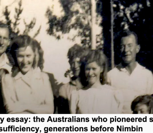 sunday essay: the australians who pioneered self-sufficiency, generations before nimbin