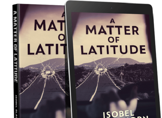 author & book alert: a matter of latitude by isobel blackthorn