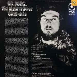 cream of the crate: album # 3 – dr john_gris gris