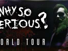 isaac butterfield why so serious australian tour