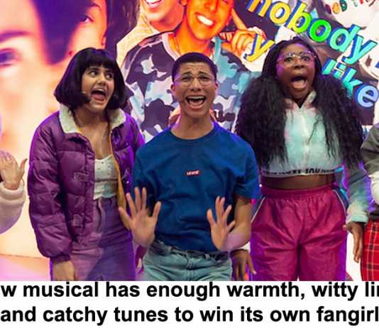 new musical has enough warmth, witty lines and catchy tunes to win its own fangirls