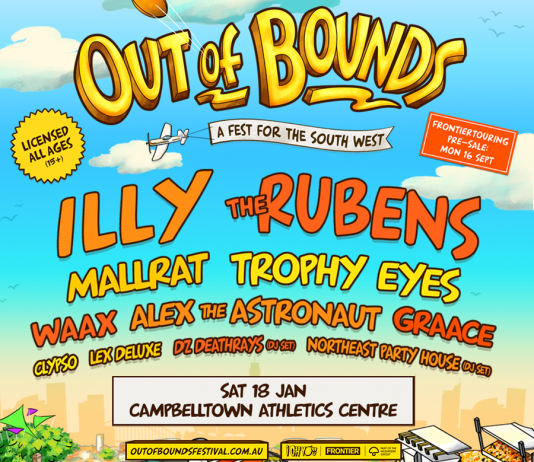 just announced out of bounds