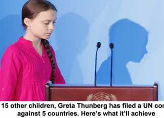 with 15 other children, greta thunberg has filed a un complaint against 5 countries. here's what it'll achieve