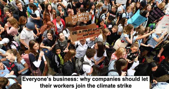everyone's business: why companies should let their workers join the climate strike