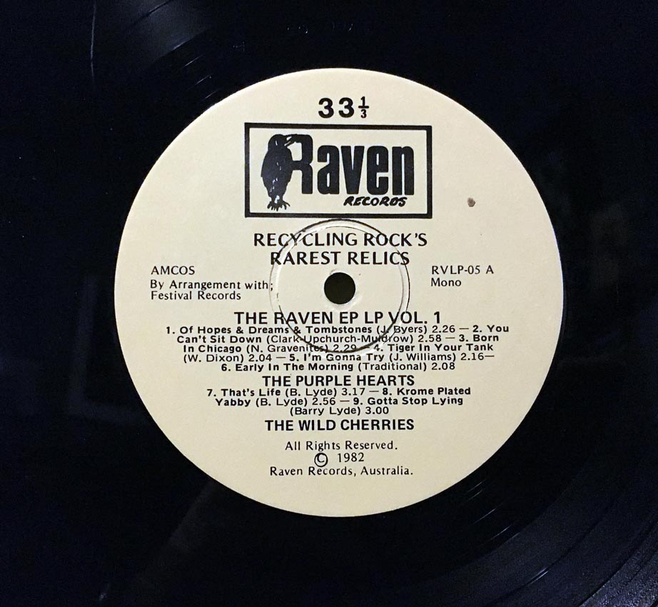 cream of the crate #50 – various artists – the raven ep lp vol. 1