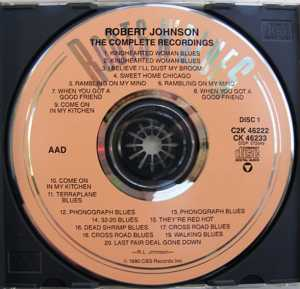 cream of the crate cd review #2 : robert johnson – the complete recordings