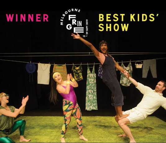 mad as a cute snake wins best kids' show at melb fringe! playing at theatre works until saturday 5th oct