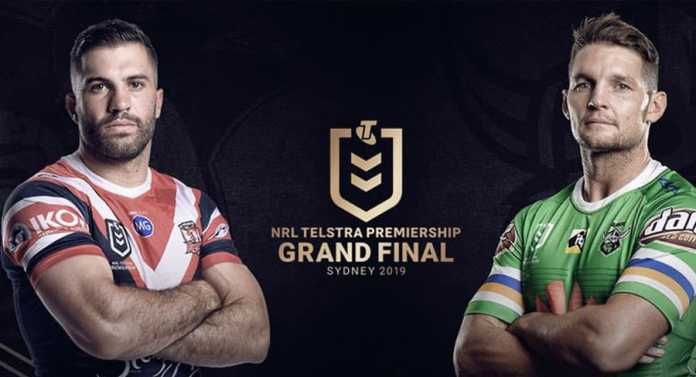 australian troops choose sides ahead of nrl grand final