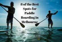paddle boarding in melbourne
