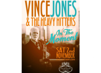 vince jones and the heavy hitters saturday november 2
