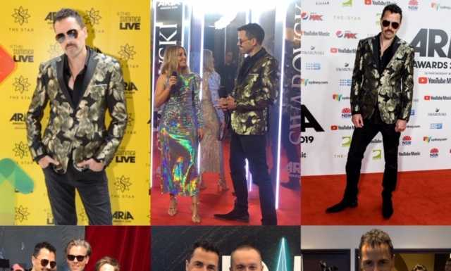 andy van from madison avenue at the arias last night