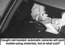 caught red-handed: automatic cameras will spot mobile-using motorists, but at what cost?