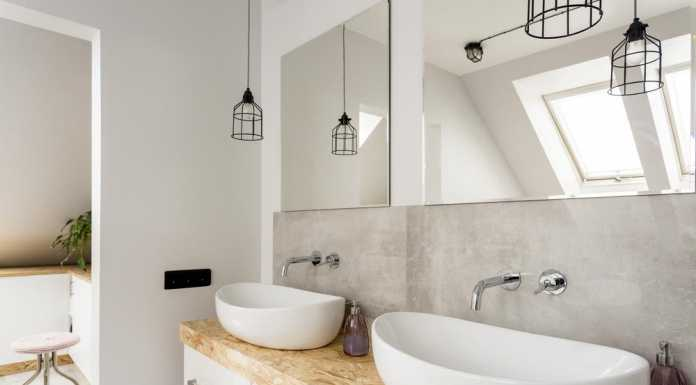 how to stylishly revitalise a three-quarter bathroom