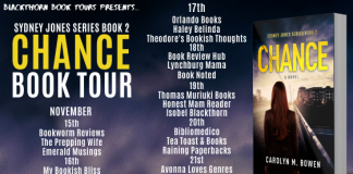 book tour: chance by carolym m bowen