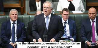 is the morrison government 'authoritarian populist' with a punitive bent?