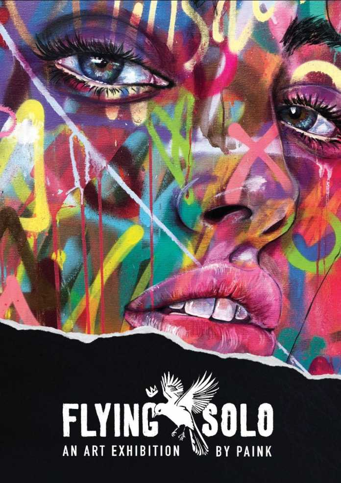 first stand alone exhibition by distinctive contemporary street artist, paink