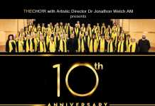 sharing the joy – celebrating thecho!r's tenth anniversary