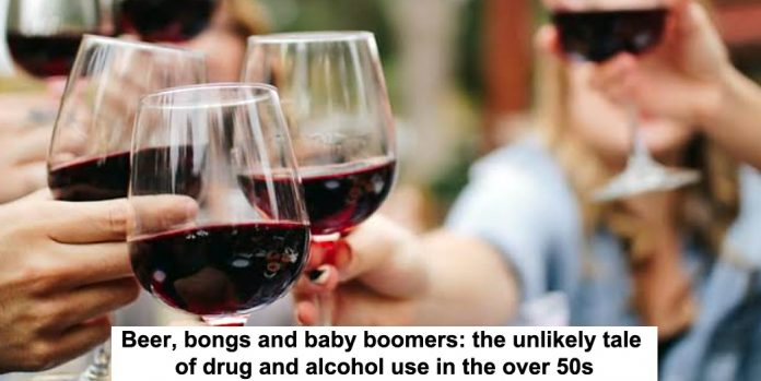 beer, bongs and baby boomers: the unlikely tale of drug and alcohol use in the over 50s