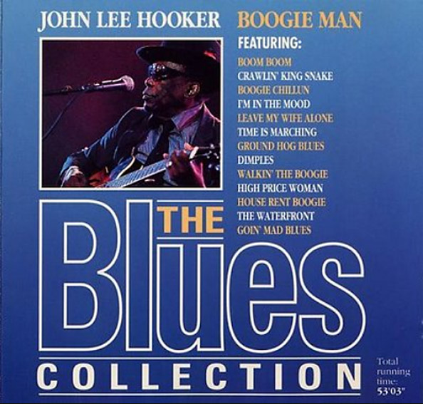 cream of the crate: cd review #31 – john lee hooker: boogie man