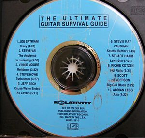 cream of the crate: cd review #33 – the ultimate guitar survival guide
