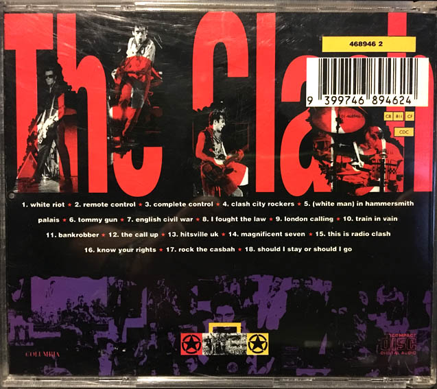 cream of the crate: cd review #26 – the clash: the singles