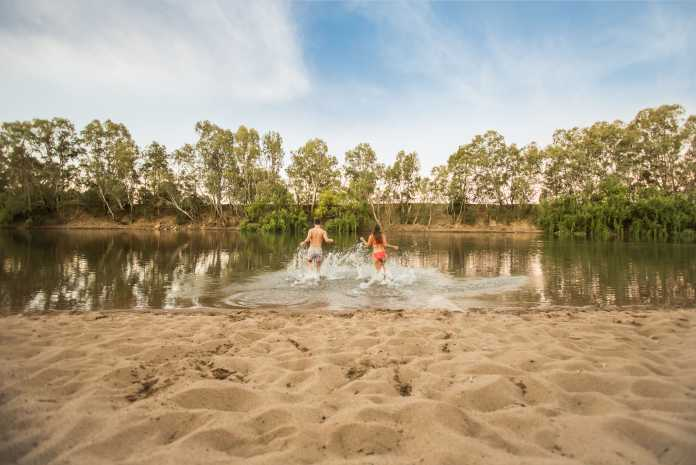 definition of an aussie beach changed in official top 20 beaches for 2020 / first inland 'beach' at wagga wagga