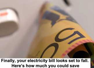 finally, your electricity bill looks set to fall. here's how much you could save