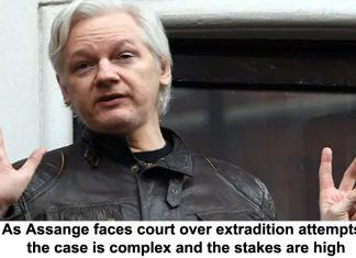 as assange faces court over extradition attempts, the case is complex and the stakes are high