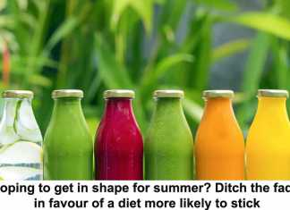 hoping to get in shape for summer? ditch the fads in favour of a diet more likely to stick