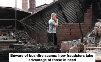beware of bushfire scams: how fraudsters take advantage of those in need