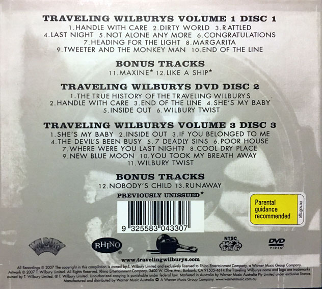 cream of the crate: cd review #49 – the traveling wilburys : the traveling wilburys collection