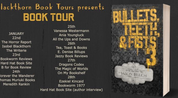 book review: bullets, teeth and fists 3 by jason beech
