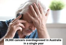 29,000 cancers overdiagnosed in australia in a single year