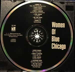 cream of the crate: cd review #43: women of blue chicago – various artists