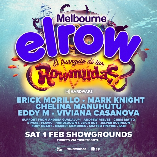 elrow australia announce full line up