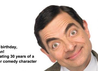 happy birthday, mr bean! celebrating 30 years of a major comedy character