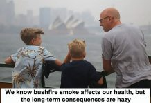 we know bushfire smoke affects our health, but the long-term consequences are hazy