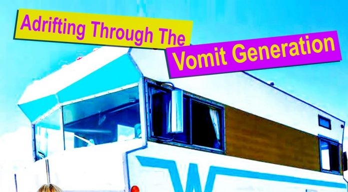 play: 'adrifting through the vomit generation' by michael grey griffithsiths
