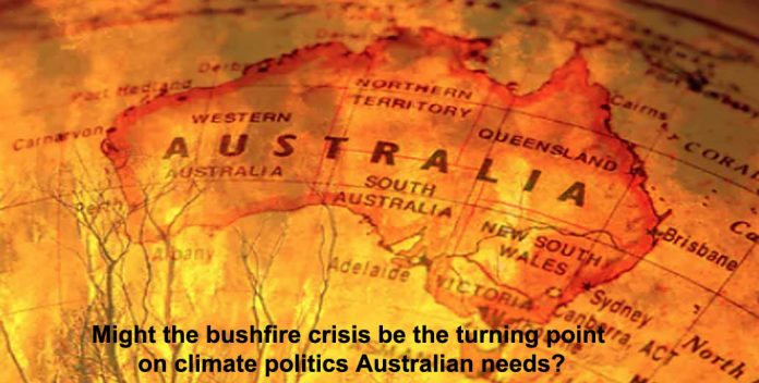 might the bushfire crisis be the turning point on climate politics australian needs?