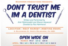 don't trust me, i'm a dentist | melbourne international comedy festival