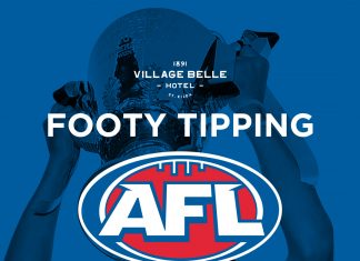 footy tipping 2020 at the belle!