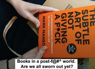 books in a post-f@#^ world. are we all sworn out yet?