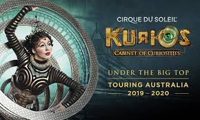kurios – cabinet of curiosities          a preview of a spectacular cirque du soleil event
