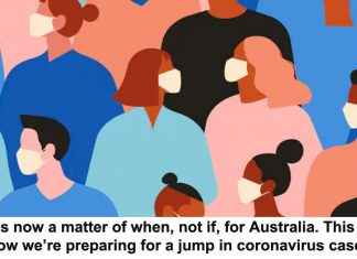 it's now a matter of when, not if, for australia. this is how we're preparing for a jump in coronavirus cases