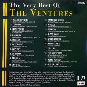 cream of the crate: album review #109 – the ventures: the very best of
