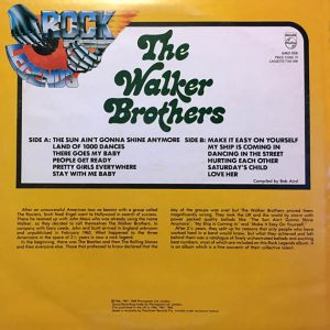 cream of the crate: album #117 – the walker brothers: the walker brothers (self titled)