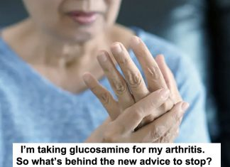 i'm taking glucosamine for my arthritis. so what's behind the new advice to stop?
