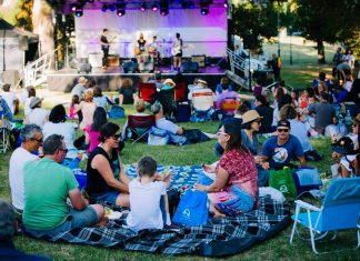 free upcoming event: latin in the park